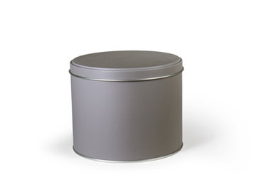 Rond blik Taupe Groot