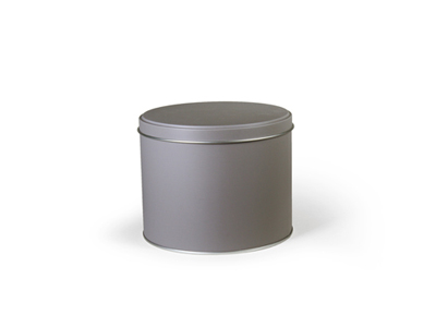 Rond blik Taupe Medium